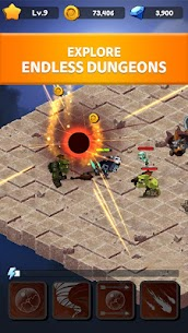 Rogue Idle RPG: Epic Dungeon Battle Mod Apk (Unlimited Gold) 4
