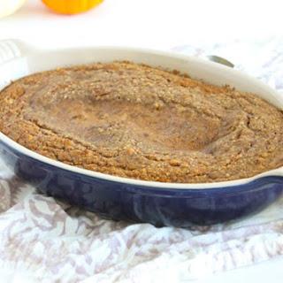 Pumpkin Lava Cake