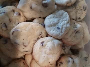Sour Cream-Milk Chocolate Chip Cookies