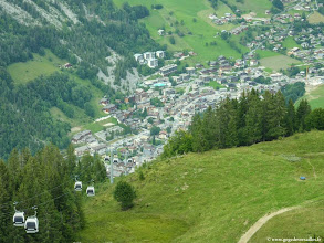 Photo: #018-La Clusaz, vue de Beauregard.