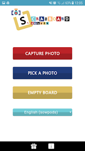 Scrabboard Solver - náhled