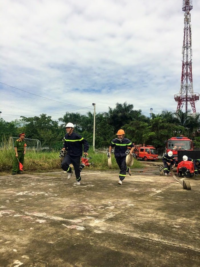 Những bài thực hành cơ bản của lính cứu hỏa nhưng phải luyện tập hàng ngày