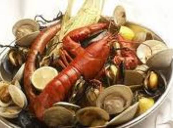 New England Clambake In A Kettle Recipe