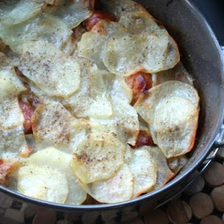 Andouille Sausage and Potato Hotpot