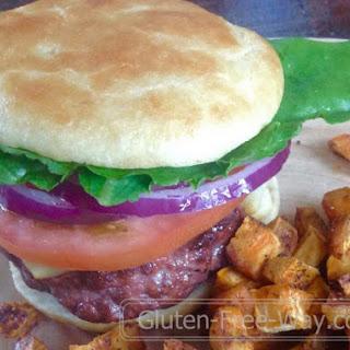 Gluten Free Hamburger Buns.