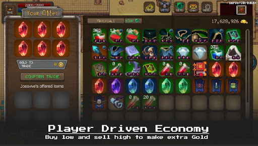 MMORPG Laurum Online - RPG - Pixel MMO - PVP apkdebit screenshots 6