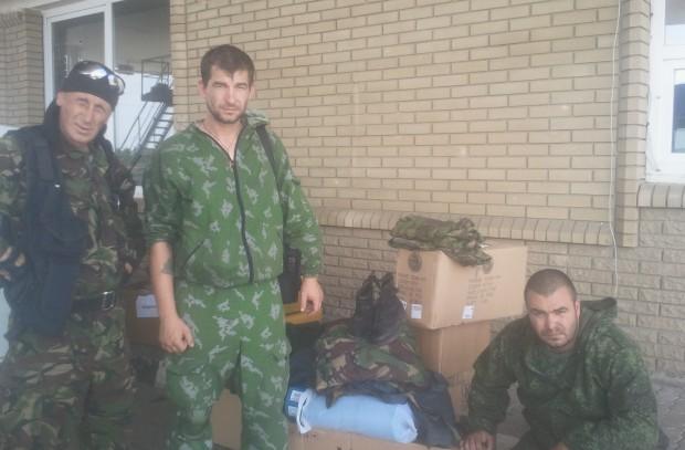 «Представитель Адыгеи» Ренат Каде (справа) вырос и учился в университете в Луганске. Фото с сайта «Русская планета»