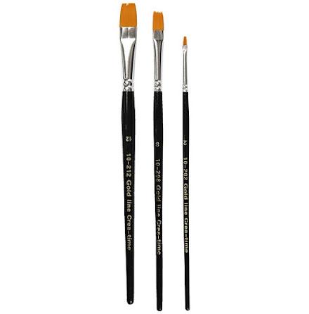 3-pack penslar - Gold Line