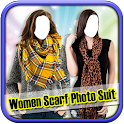 Women Scarf Photo Suit icon