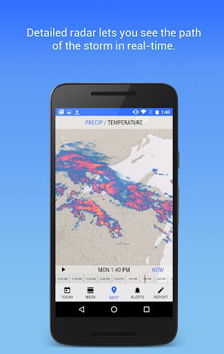 Dark Sky - Hyperlocal Weather Screenshot