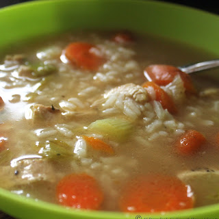 Homemade Chicken and Rice Soup Recipe