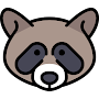Racoon Cute Wallpaper APK icon