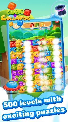 Cube Collapse: Pop Blast Puzzle Game 1.0.0 screenshots 4