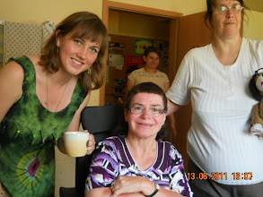 "Photo: 13 VI 2011 roku  - Ania i  Kasia w "" Arce """