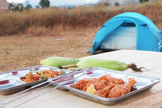 Tents & BBQ makes camping a perfect venture