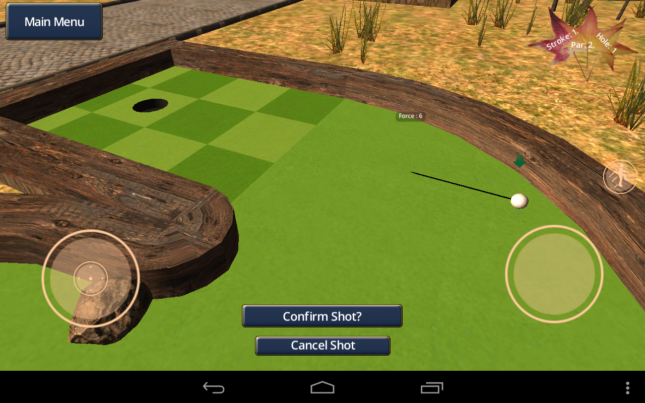 Autumn Park Mini Golf- screenshot