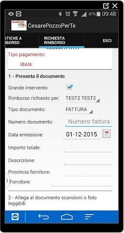 android CesarePozzoPerTe Screenshot 4