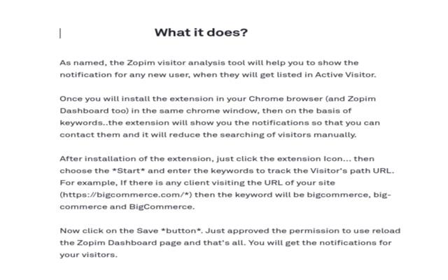 Zendesk / Zopim / Tawk.to Visitor Alert