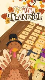 Díkůvzdání klávesnice - náhled