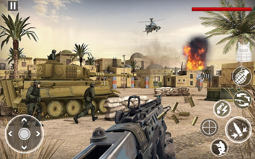 World War Pacific Free Shooting Games Fps Shooter 3.1 screenshots 4