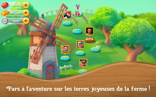 Farm Heroes Super Saga  captures d'u00e9cran 10