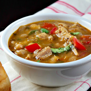 White Bean Chili with Turkey