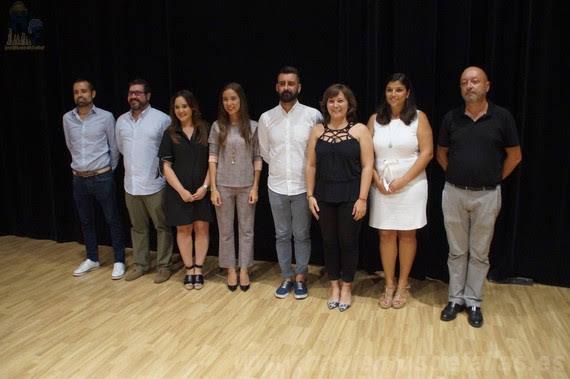 Elegidos los jurados y presentados a sus candidatas. #Elecció19