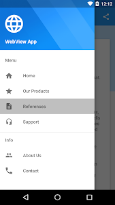 WebView App Demo screenshot 0
