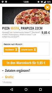 TelePizza - Die Genussbringer!- screenshot thumbnail