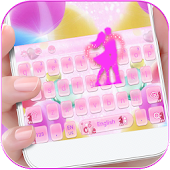 Sweet Love Theme for Keyboard Jelly Candy