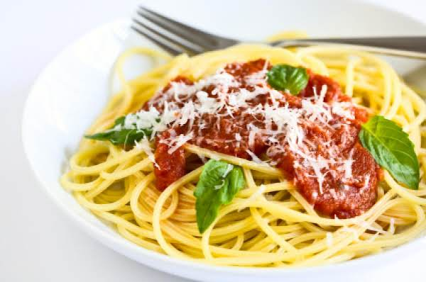 Versatile Marinara Sauce Made With Fresh, Home-grown Tomatoes!