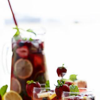Berry Limoncello Moscato Sangria
