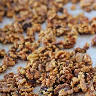Cinnamon Sugar Toasted Walnuts