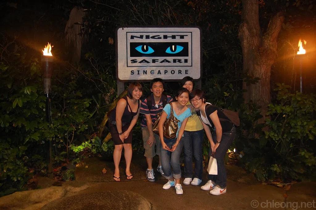 Singapore Night Safari Tour