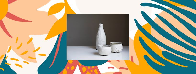 Glazed Drinkware - Facebook Page Cover Template