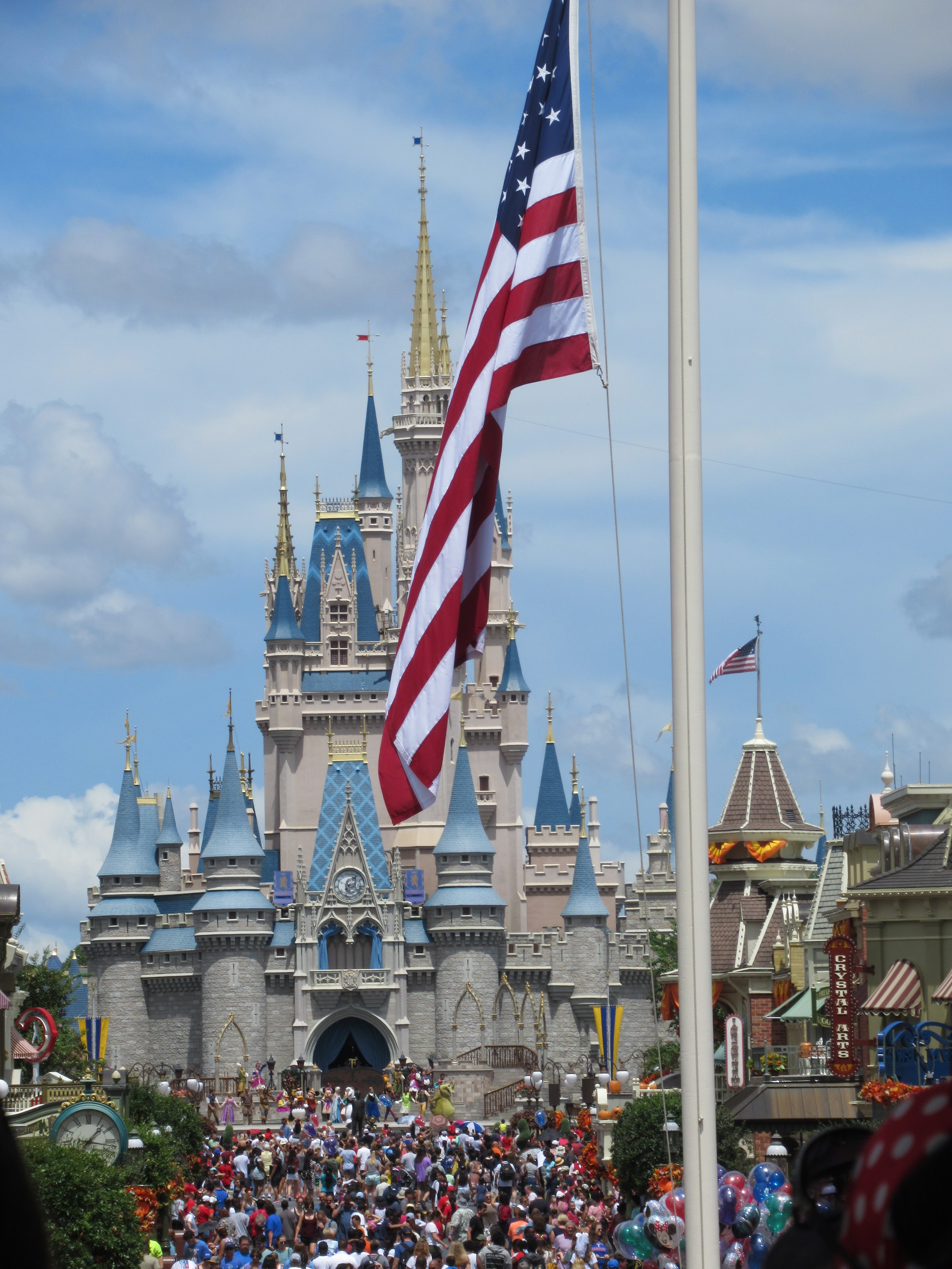 Fourth of July at Disney is arguably one of the busiest days of the year. That being said, there are usually some characters out in fun, patriotic attire, special concerts and 'better-than-normal' fireworks displays.
