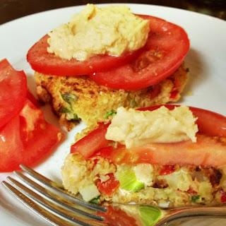 Hummus Quinoa Cakes Recipe