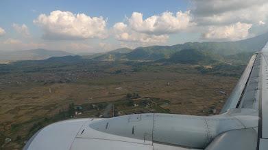 Photo: Landing in Katmandu
