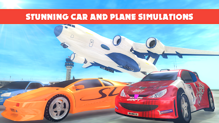 Race Car Transporter Airplane 1.9 screenshot 975050