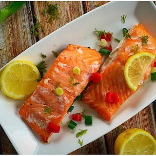 Chilli Lemon Salmon