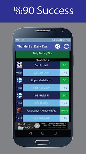 ThunderBet Daily Tips|玩運動App免費|玩APPs