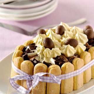 Chocolade-ijstaart