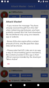 Attack Master! - Coins & Spins Screenshot