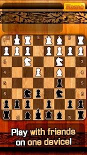 Chess Multiplayer 2D - náhled