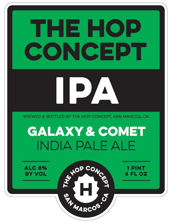 Logo of Hop Concept Galaxy & Comet