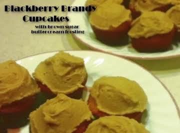 Blackberry Brandy Cupcakes