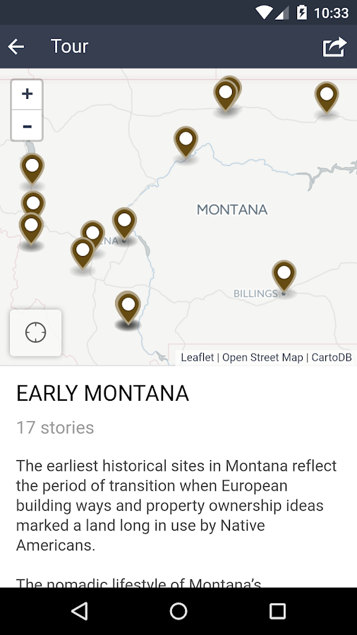Explore Big – Montana History- screenshot