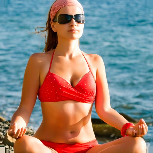 性感的身体瑜伽女孩 娛樂 LOGO-玩APPs