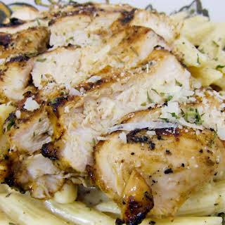 Grilled Cajun Ranch Chicken Pasta.