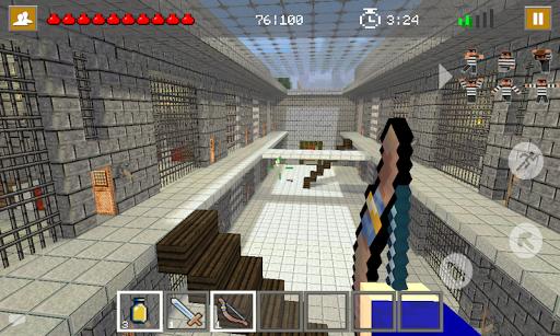 Cops N Robbers: Pixel Prison Games 1 screenshots 14